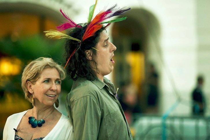 Kertesi Ingrid és Szűcs Attila a tavalyi Varázsfuvolában Balatonfüreden. Fotó: Érdi-Harmos Réka