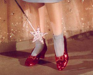 Dorothy piros cipellője
