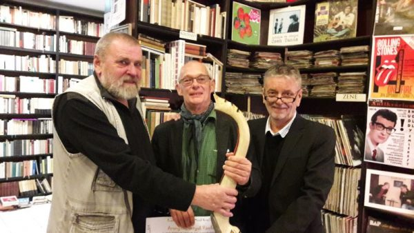 Balról jobbra: Lugossy László, Krámer György, Molnár Sándor. Fotók: a szerző