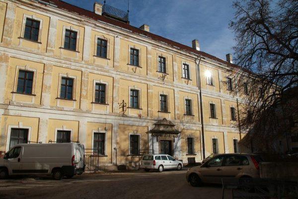 A régiós központi közigazgatási bíróság költözhet a volt közgazdasági középiskola egykori, Vár utcai épületébe. Fotó: Veszprém Kukac archív