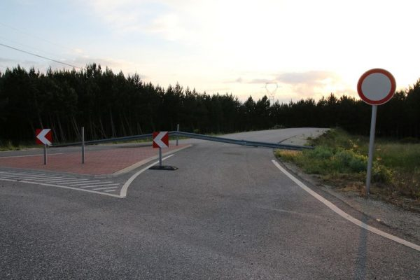 A 8-as és a 82-es utak közötti átkötés az Arénánál távoli álom. Fotó: Nagy Lajos