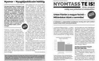 NYOMTASSTEIS – Foci kontra nyugdíjasok