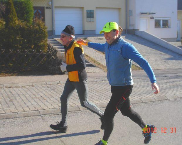 A futások legidősebb résztvevője a 74 éves Niedermayer Attila