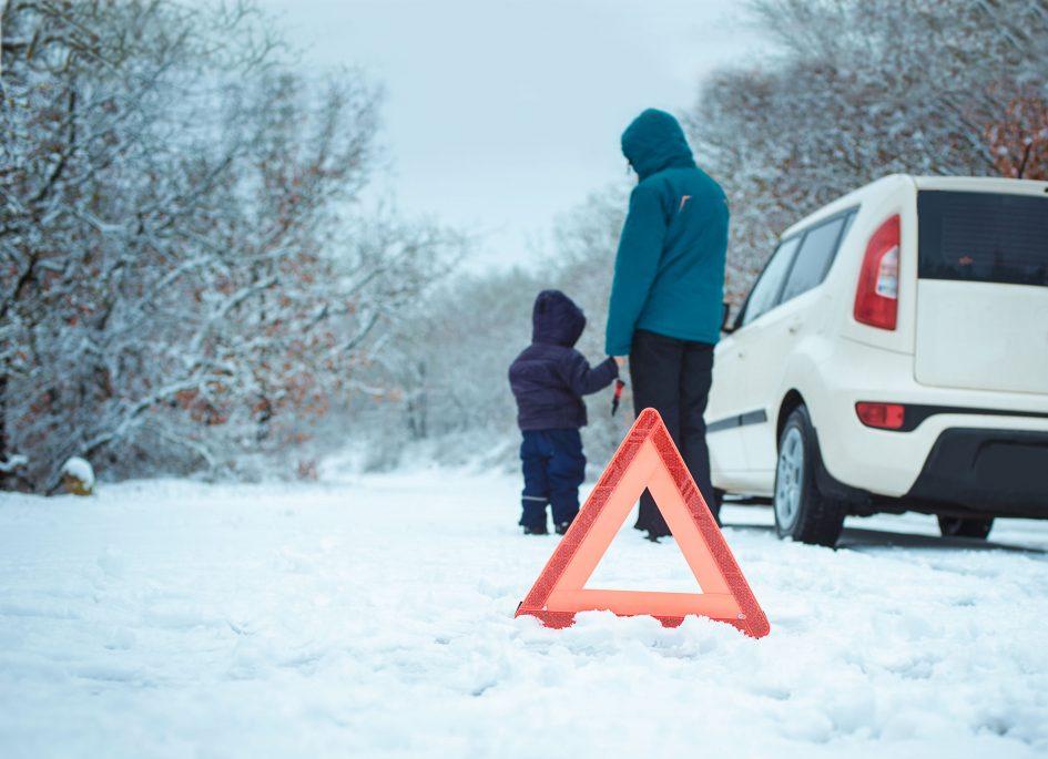 Télen veszélyesebb a defekt