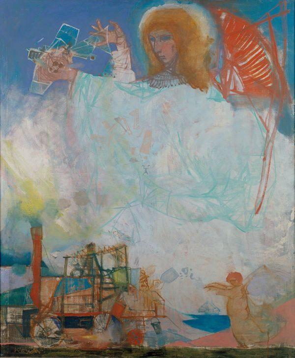 Kondor Béla: Angyal a város felett