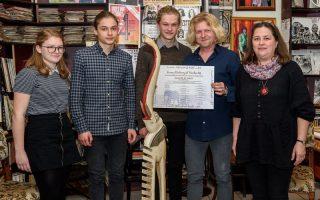 ELEFÁNTYUK – Sümegi Elemér a díjazott