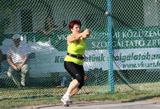 Benes Magdolna a Balaton Bajnokságon 2012-ben
