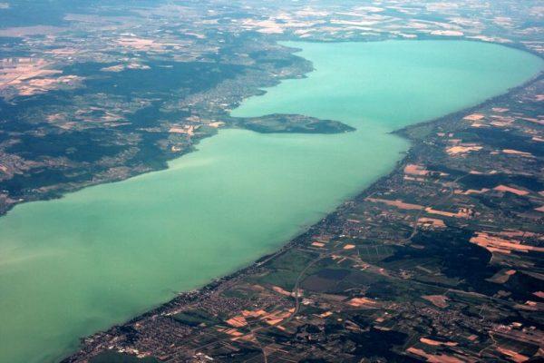 Siófoknál a 2006. júliusi hőségében31 fokosvolt a víz!  Fotó: ilovebalaton.hu