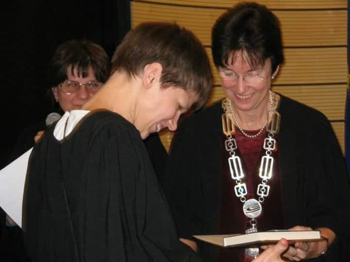 Diplomaosztón Budapesten.Fotó: Facebook