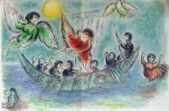 Chagall: Szirének