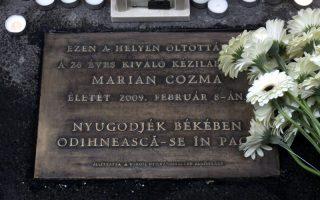 MEGEMLÉKEZÉS – Szegény Marian Cozma!