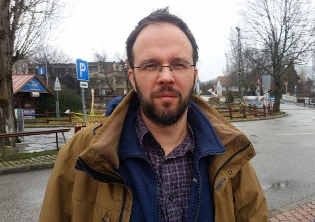 Szűts István Gergely, az MTA Lendület Trianon 100 Kutatócsoport tagja. Fotó: a szerző