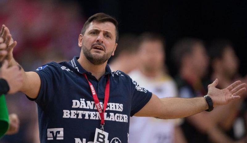 Ljubomir Vranjes, a veszprémiek vezetőedzője. Fotó: Magyar Nemzet