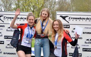 KERÉKPÁROZÁS – Ha kell az eredmény, a veszprémi bringás lányokra lehet számítani!