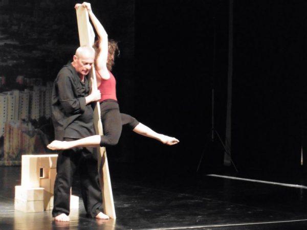 A közönség láthatja a Faun–Nimfa–Danaida című előadást a Veszprémi Táncműhely produkcióját. Archív fotó: Veszprém Kukac