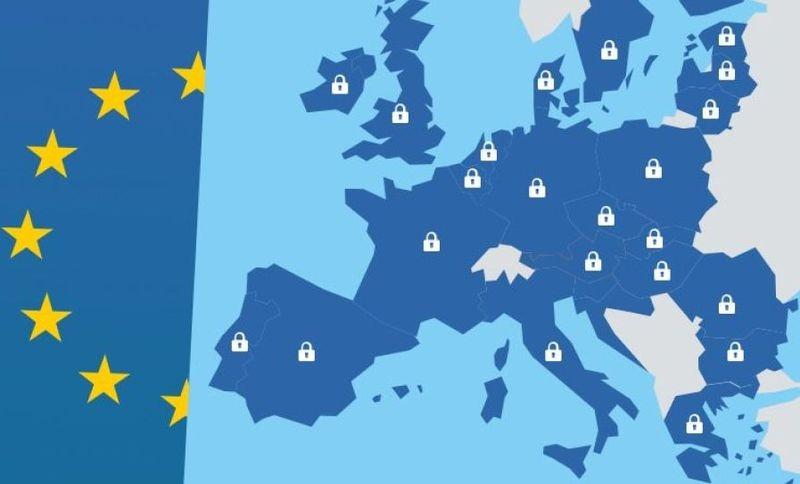 Európa nagy részén egységes lesz az adatvédelmi törvény. Kép forrása: Twitter