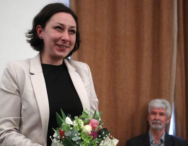 Terék Anna, az idei Sziveri-díjas költő-drámaíró