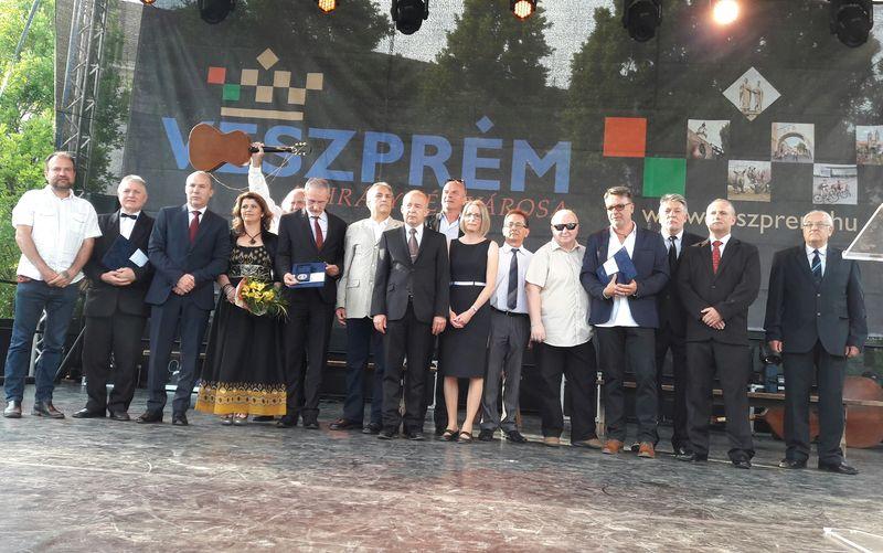 Az idei Gizella-díjasok. Fotók: a szerző