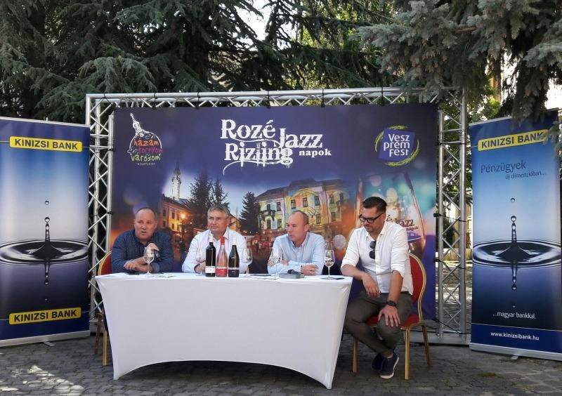 Rozé, Rizling és Jazz Napok sajtótájékoztató. Fotók: a szerző