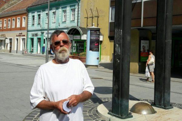 A 12. Civil Nap programsorozatát Heiter Sándor, a Veszprémi Civil Kerekasztal elnöke ismertette. Fotó: a szerző