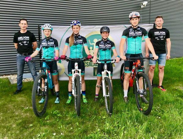 A veszprémi csapat. Fotók: Veszprem Cycling Academy