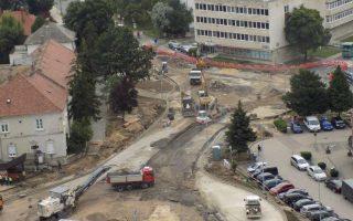 KÖRFORGALOM – Webkamera közvetíti az építkezést