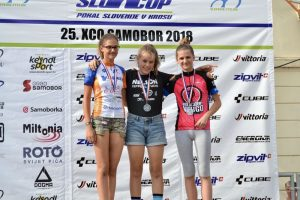 Orosz Lili (középen) két nap alatt két aranyat szerzett