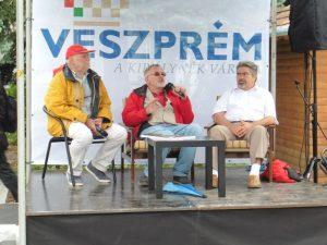 Balról jobbra: Kőrössi P. József, Horváth Péter és Tóth Zoltán