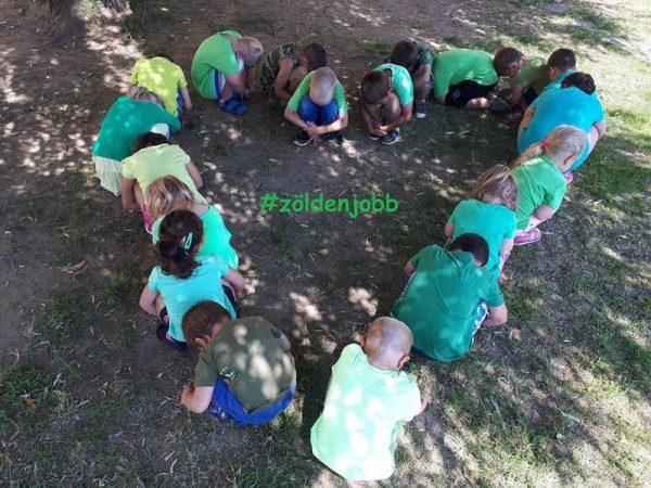 Több ezer ovis is zöld pólót viselt ma. Fotók: IKSZ Egyesülés