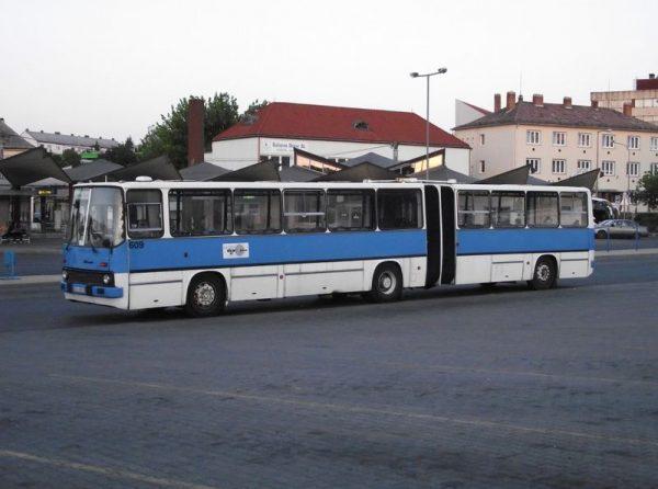 Elöregedett a buszállomány Veszprémben. Képünk illusztráció