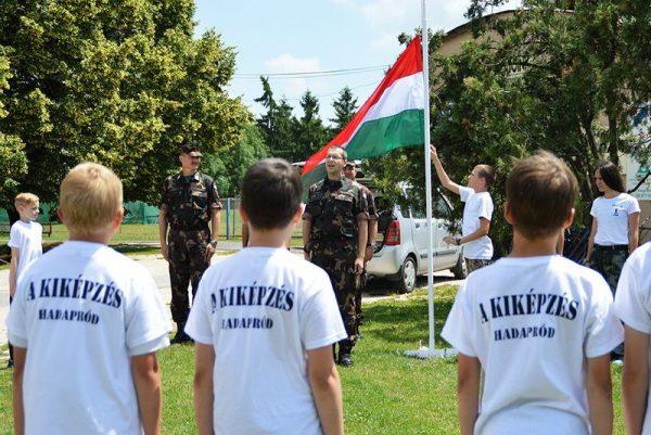 Egy korábbi táborozás. Fotó: honvedelem.hu