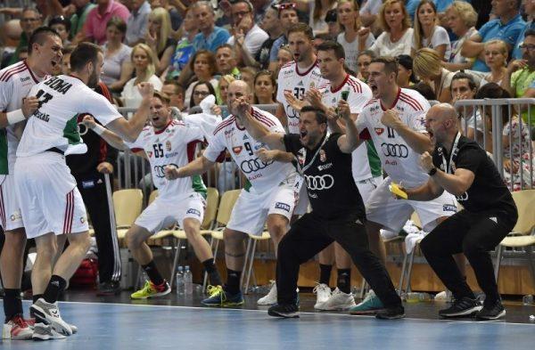 Gólöröm a magyar-szlovén meccsen. Fotó: sportfaktor.hu