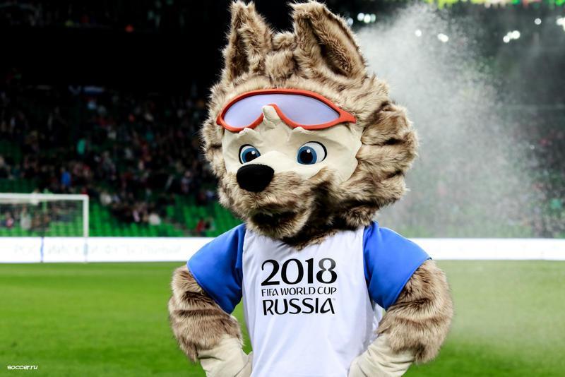 A foci-vb kabalafigurája. Forrás: fifawordcup2018.com