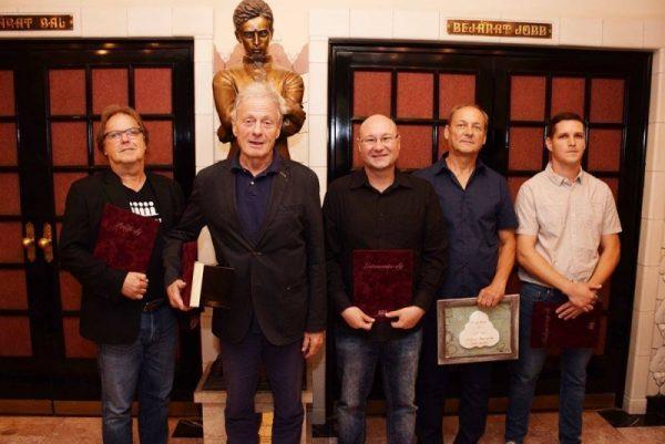 A Veszprémi Petőfi Színház díjazottjai