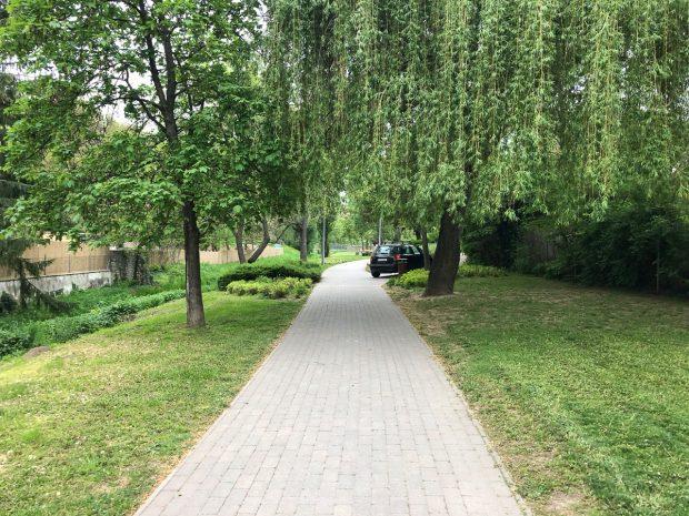 A sétány a gyalogosoknak készült