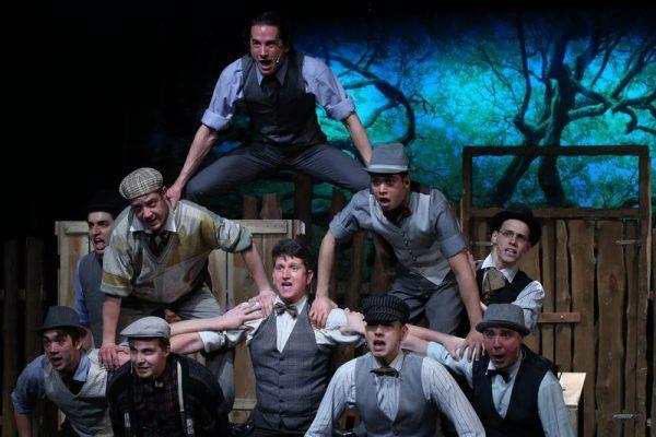 A Pál utcai fiúk. Fotó: Pannon Várszínház