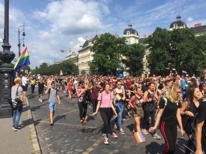 Fotó: budapestpride közösségi oldala