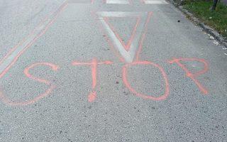 STOP – Megelégelték a balesetsorozatokat a dózsavárosiak