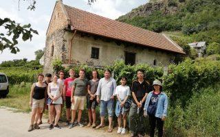 ÉRTÉKMENTŐK – Építészhallgatók a Somló-hegyen