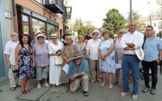 BOTLATÓKÖVEK – Az elhurcolt veszprémi zsidók emlékére