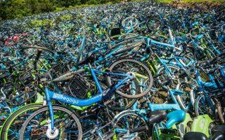 SZÜRREÁLIS –Túltolták a biciklit Kínában