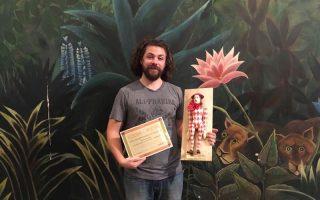 KABÓCA – Danny Bain Michel Indali díjat kapott