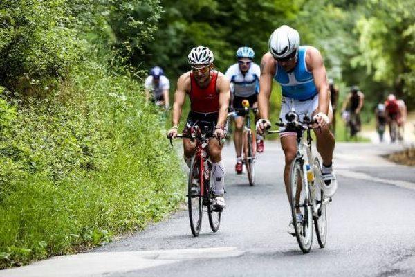 A kép egy korábbi Balatonman Füred triatlonversenyen készült. Forrás: terepsport.hu