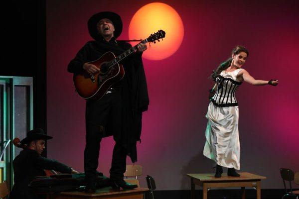 A Pannon Várszínház egyik bemutatója a Béke Presszó című zenés játék lesz. Fotó: Pannon Várszínház