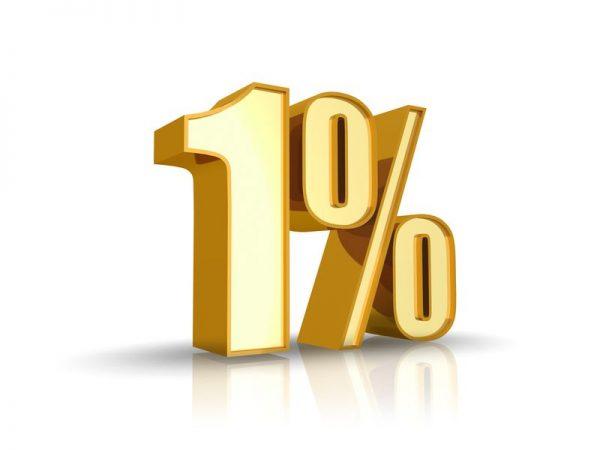 egyszázalék