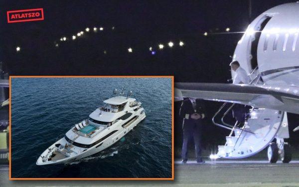 Az Átlátszó.hu montázsán a luxusjacht és a kisrepülőgép