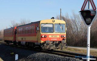BALATON – Megkezdődött az észak-balatoni vasútvonal fejlesztése