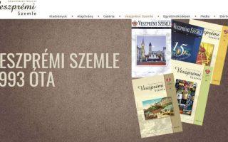 JUBILEUM – Negyedszázados a Veszprémi Szemle