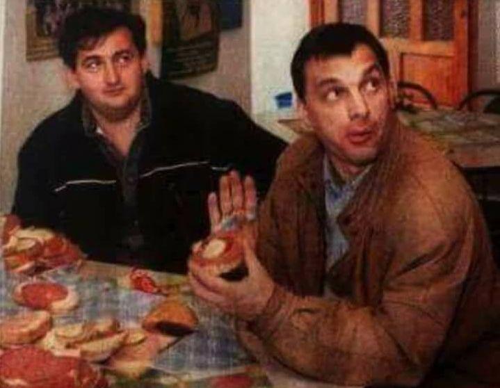 Mészáros és Orbán anno. Fotó: hirhatar.com