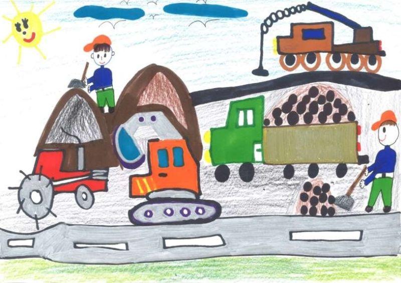 Fotó: Vadasi Norbertnek, az egyik tavalyi győztesnek a rajza